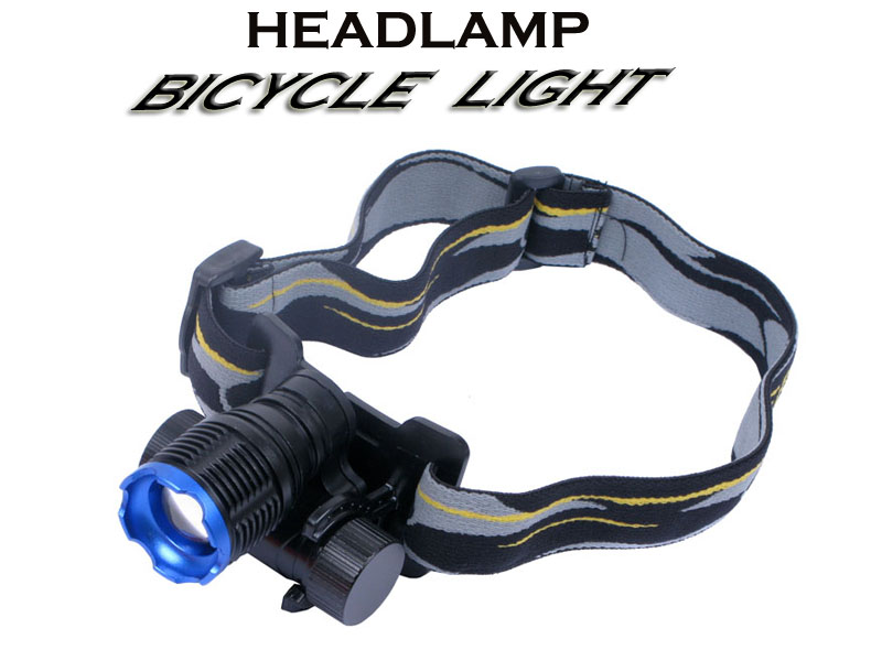 High Power CREE Q3 LED Headlamp and Bicycle Light-004