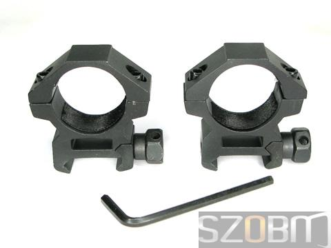 Aluminum 25mm Ring Double Mounts(X014)