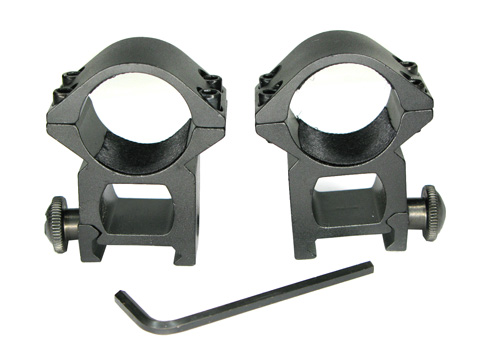 Aluminum 25mm Ring Double Mounts(18#-1)